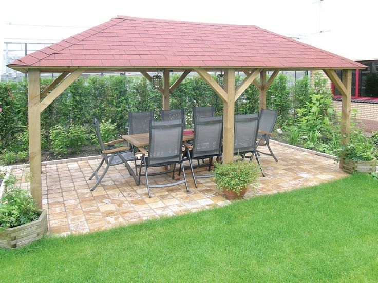 Grande Wooden Garden Gazebo - Gazebo Direct