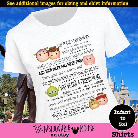 Toy Story Tsum Tsum Shirt, Toy Story Shirt