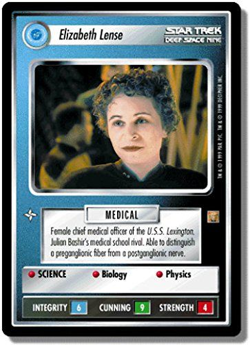 STAR TREK CCG 1E ROA RULES OF ACQUISITION ELIZABETH LENSE 66R @ niftywarehouse.com #NiftyWarehouse #StarTrek #Trekkie #Geek #Nerd #Products