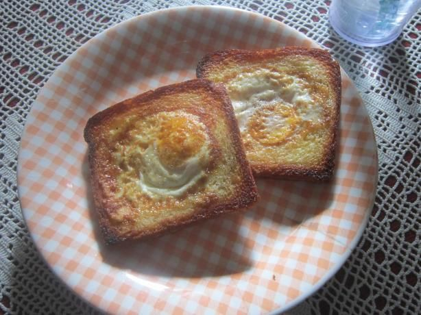 V for Vendetta's - Eggy in a Basket!. - I tried it this morning and had half a grapefruit too. It's really good :P