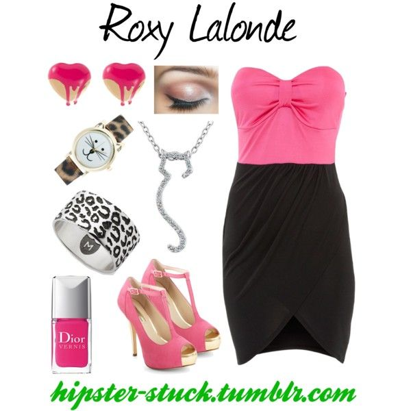 """Formal Roxy"" by hipsteristuck on Polyvore"
