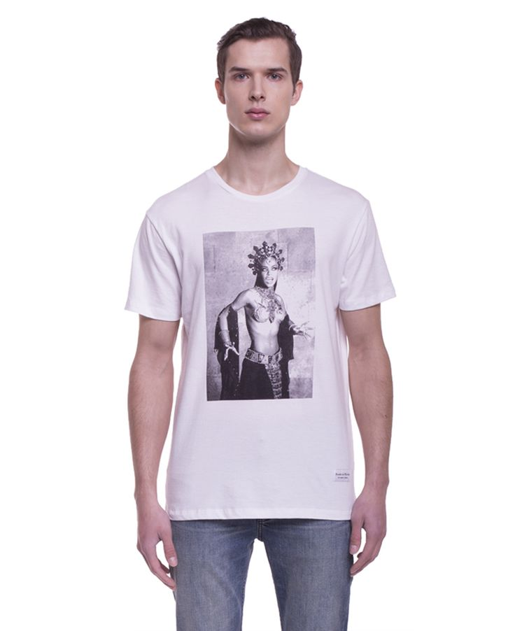 Raised By Wolves - Aaliyah T-Shirt White - SOTO Berlin