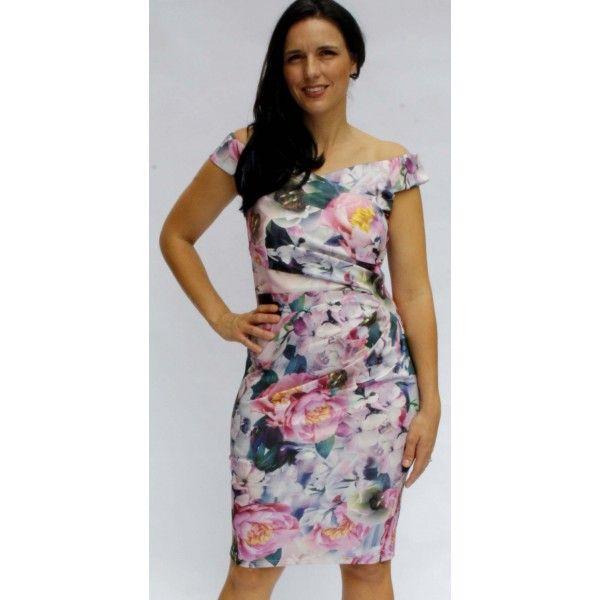 Ianto Off Shoulder Floral Dress