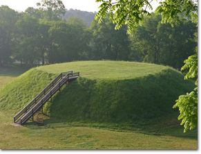 Etowah Indian Mounds Historic Site in Cartersville.  Prices are $3.50 - $5.50.  Fun educational events include things like learning about archaeology, how to make arrowheads, skills of the past...