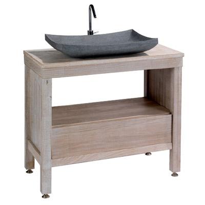 64 best salle de bain wc images on pinterest bathroom for Meuble 9 cases castorama
