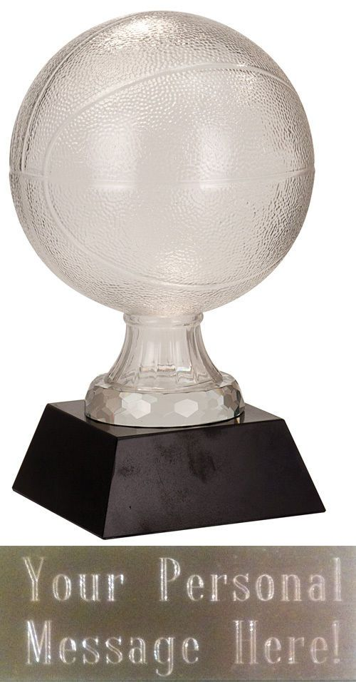Other Basketball 2023: 13 Crystal Basketball Trophy Award Personalized Free -> BUY IT NOW ONLY: $78.49 on eBay!