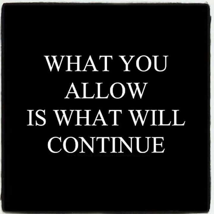 What you allow is what will continue.   Follow @Love_and_Light_Coaching on Instagram www.DinaBlas.com ----------------- You are a survivor!  Join my exclusive Healing Group Membership on Facebook (A Journey of Healing) to learn how to make peace with your past and plans for your future.  Every member is screened and vetted for privacy and safety.