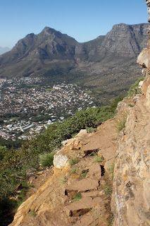 Ubuntu Girls Take the Cape! A hike up Lion's Head Mountain.