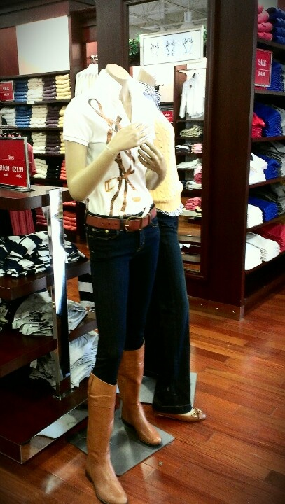 This outfit is perfect for riding horses,...Ralph Lauren