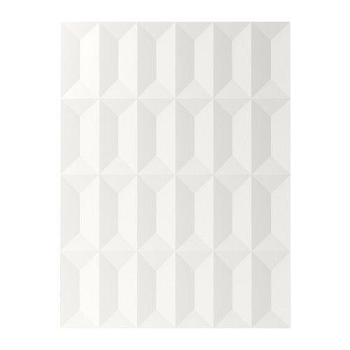IKEA - HERRESTAD, Porte, 60x80 cm, , La mélamine est un matériau très résistant, qui ne craint pas l'humidité, les taches, les rayures ou les chocs. Elle est de plus facile à nettoyer.Garantie 25 ans gratuite. Détails des conditions disponibles en magasin ou sur internet.