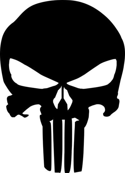Idée Créative - Camiseta The Punisher - Justiceiro
