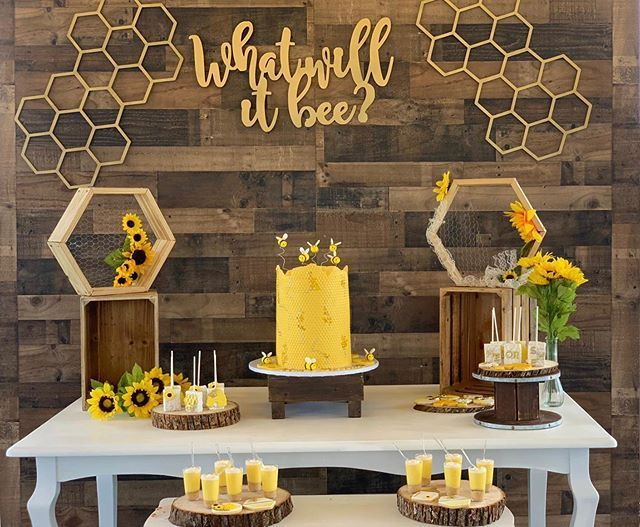 Raquel Ceo On Instagram About Last Sundays Gender Reveal What Will It Bee Bee Baby Shower Theme Baby Gender Reveal Party Bee Themed Gender Reveal