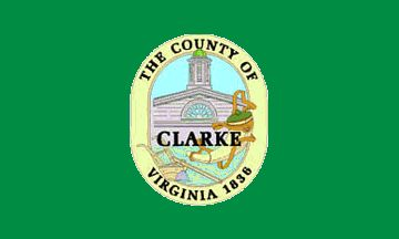 County Flags ~ Clarke County, Virginia