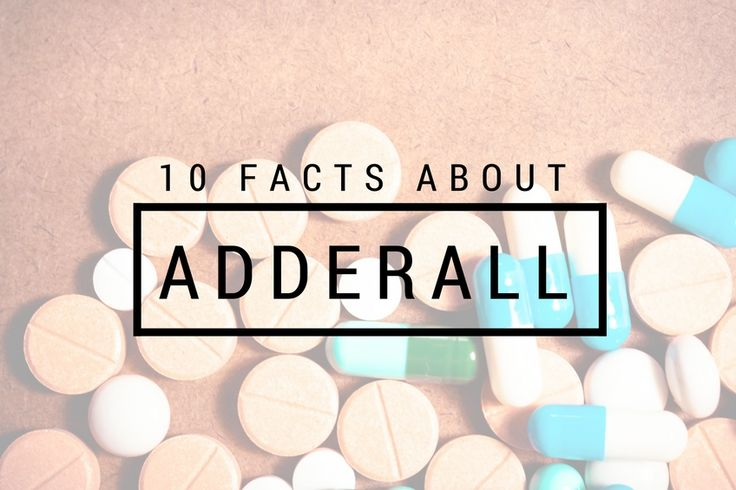 10 Facts You Don't Know About Adderall Addiction  #ADHD #AdderallAddiction