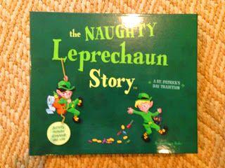 Kindergarten Smiles: Naughty Leprechaun Story and Giveaway!