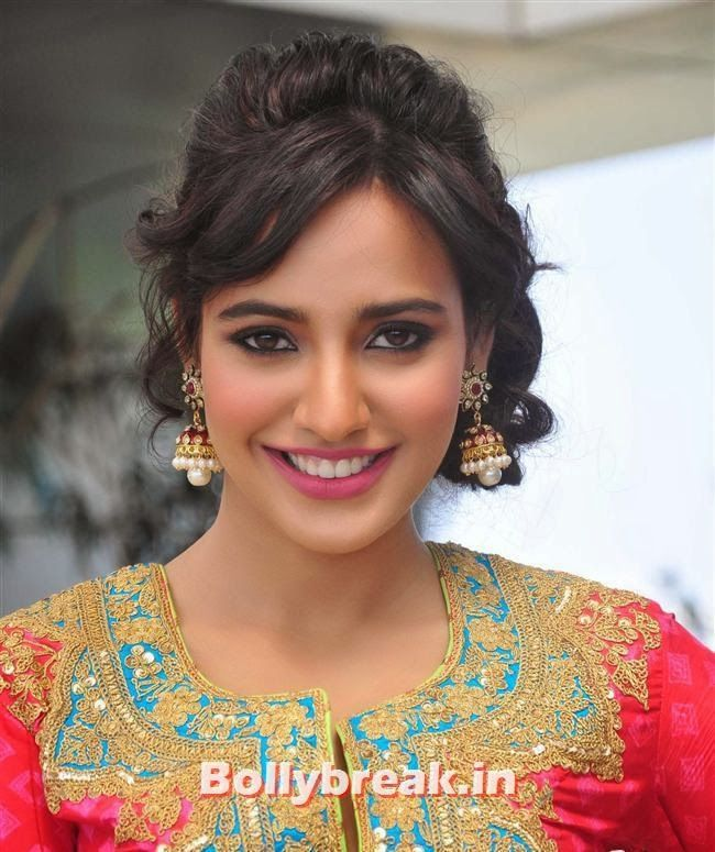 Neha Sharma celebrates Holi during the promotion of film Youngistaan