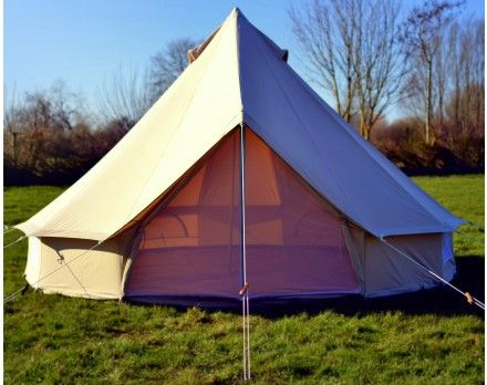 5m Ultimate ZIG Canvas Bell Tent
