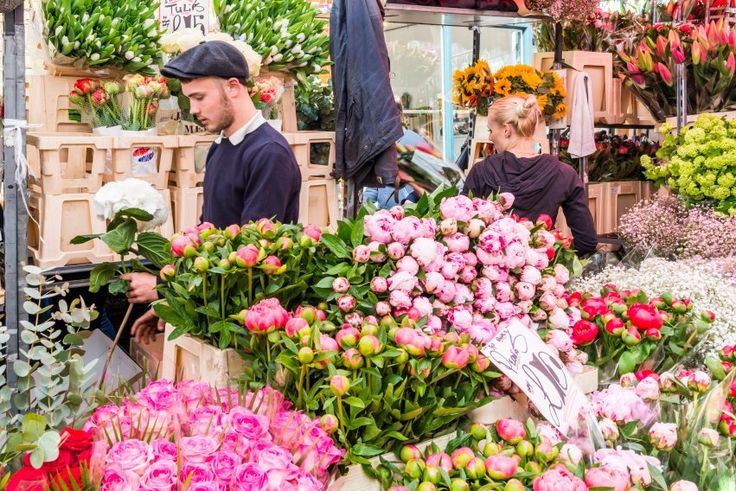 Pick up a bunch of flowers at the incredible Columbia Road flower market in the London Borough of Tower Hamlets — it is open every Sunday.
