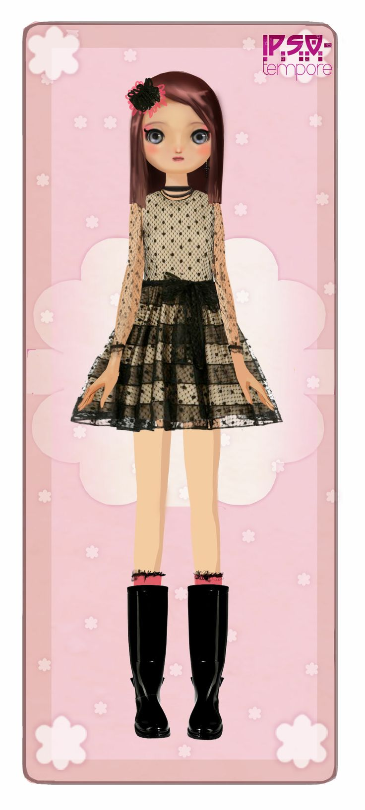 Lucy in RED VALENTINO