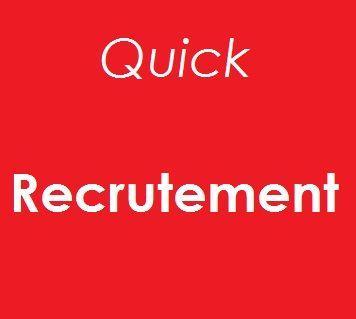 Recrutement Quick pour 2014 : Pourquoi pas vous?