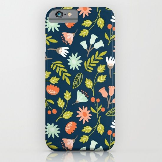 #wildernes  #flowers #floral #phonecases Available in different #giftideas products. Check more at society6.com/julianarw