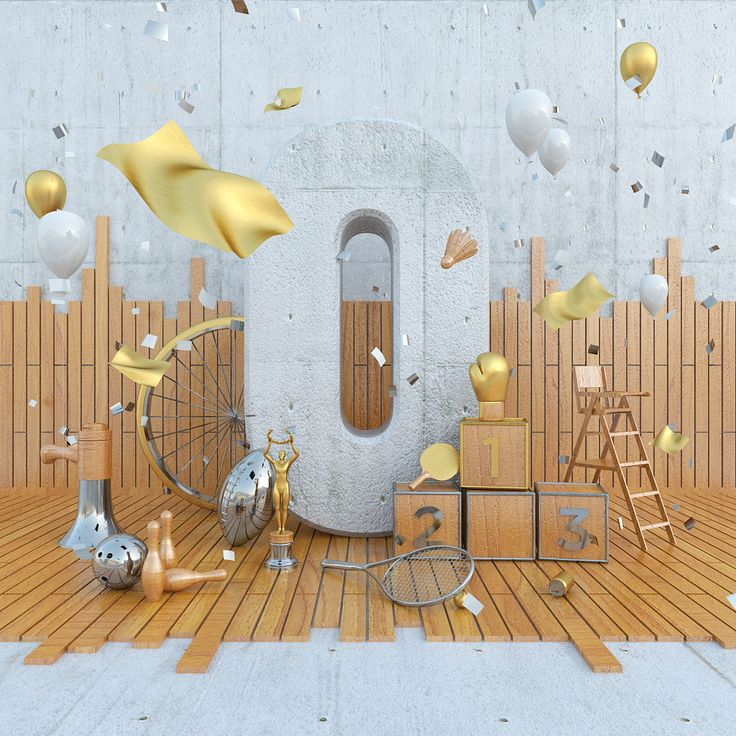 The 0 on Behance