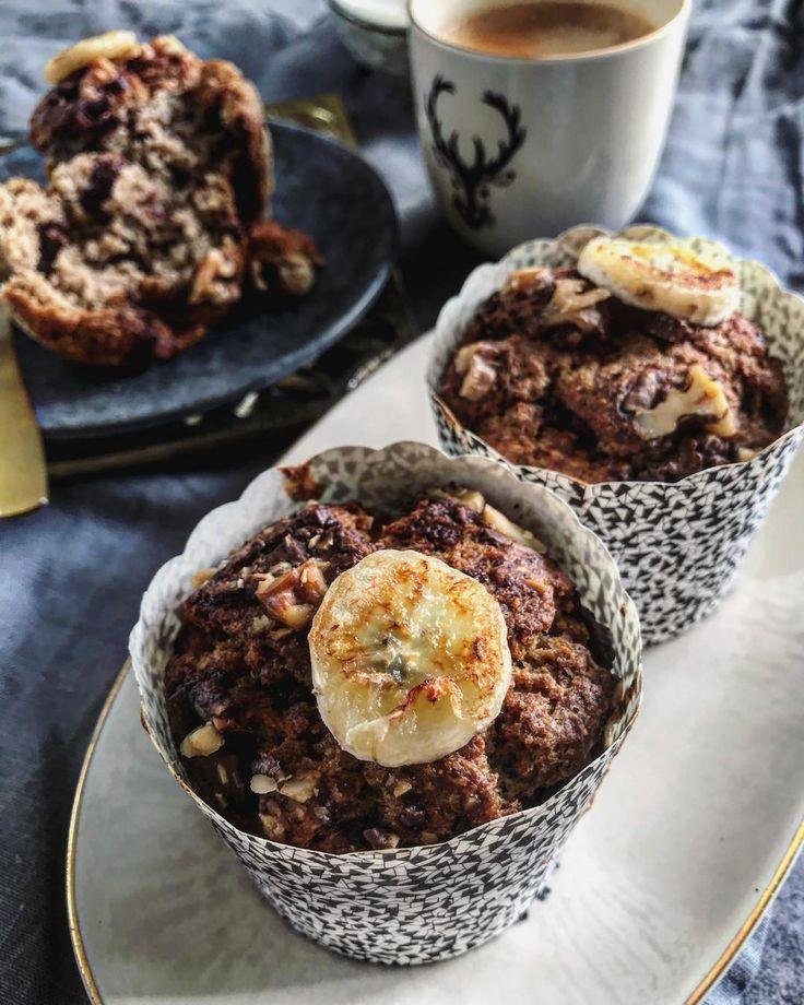 banánové zdravé muffiny