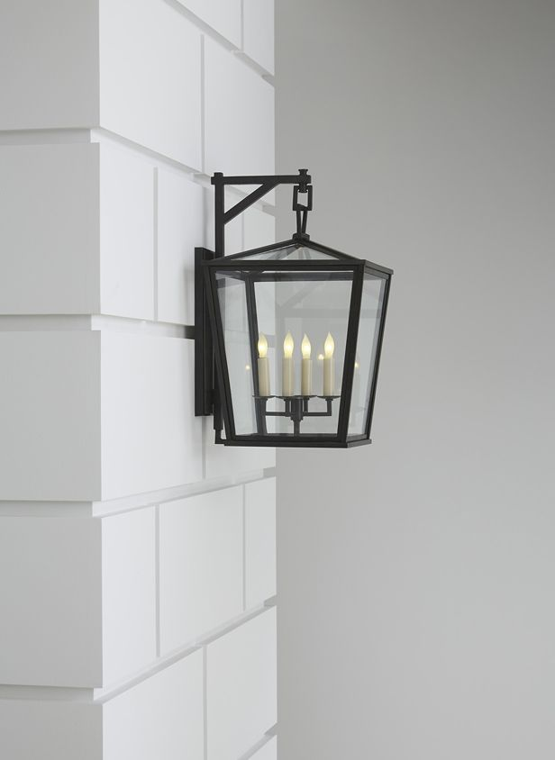 Darlana Medium Outdoor Bracket Lantern By E.F. Chapman | CHO2085 | Bronze  Finish. Outdoor SconcesOutdoor LightingOutdoor ...