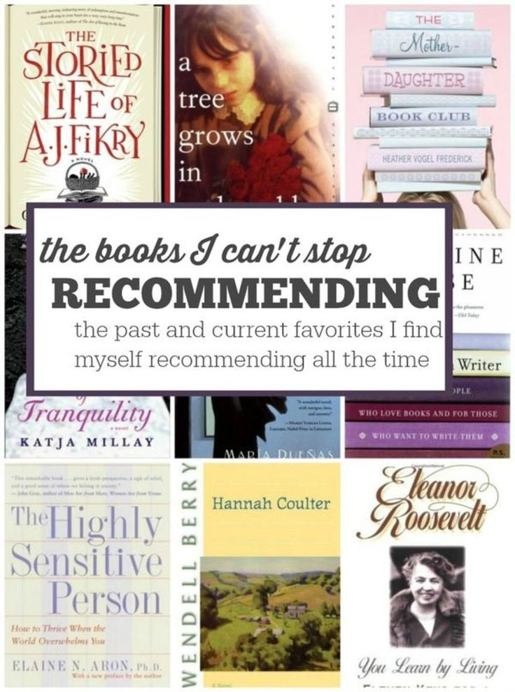 9 books I can't stop recommending