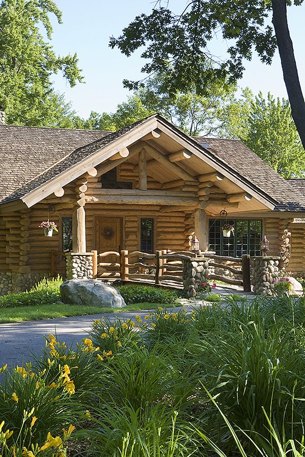 Top 25 Ideas About Handcrafted Log Home Exteriors On