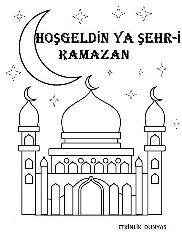 Nigar Ogretmen Adli Kullanicinin Kutlu Dogum Ve Ramazan Panosundaki Pin Ramazan Egitim Faaliyetleri Boyama Sayfalari