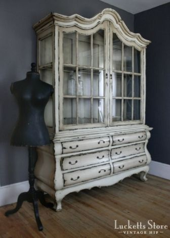 17 Best images about China cabinet makeovers on Pinterest ...