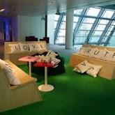 So fun... Scrabble furniture: Decor, Game Rooms, Ideas, Scrabble Couch, Dream, Scrabble Pillows, Gameroom, Scrabble Furniture, Scrabble Bench