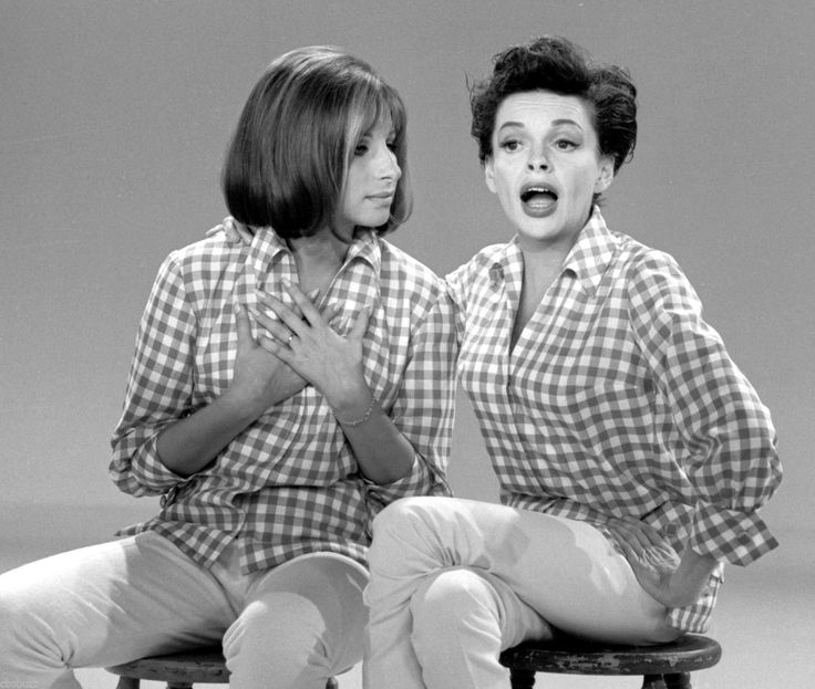 The Judy Garland Show RARE TV Show Photo 32 with Barbra Streisand | eBay
