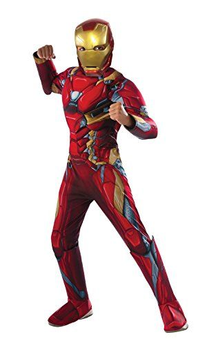 Rubie's Costume Captain America: Civil War Deluxe Iron Man Costume Small