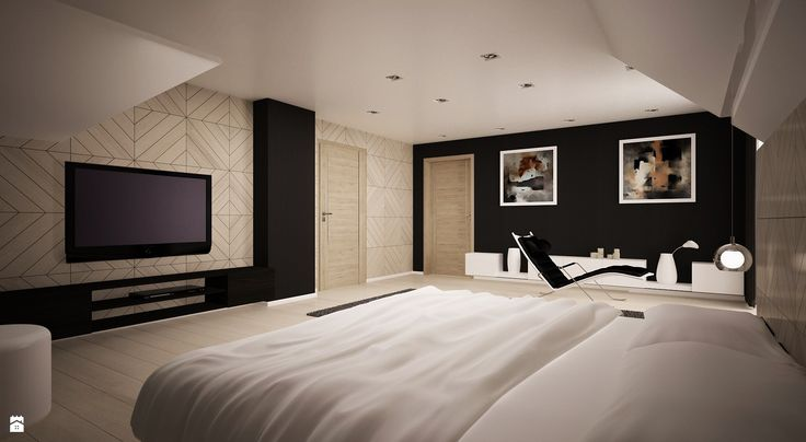 Projekt sypialni - zdjęcie od 3ESDESIGN - Sypialnia - Styl Nowoczesny - 3ESDESIGN