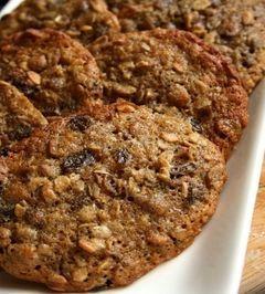 Αφράτα και υγιεινά μπισκότα με μούσλι