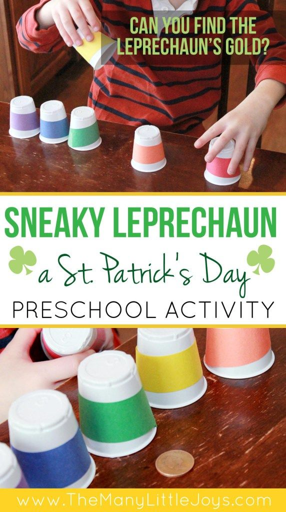 This St. Patrick's Day game is a simple way to help your preschooler practice colors, counting, and develop critical thinking skills in a sneaky way.