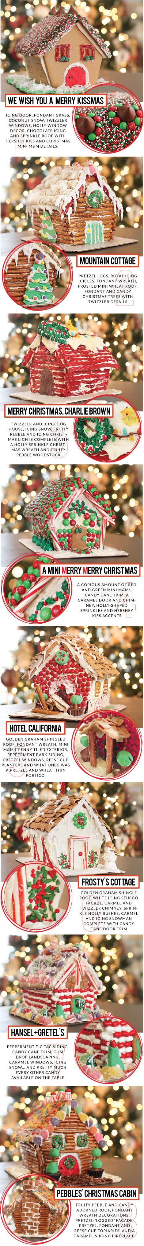 7.5 Gingerbread House Decorating Ideas / 7thhouseontheleft.com