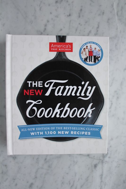 The New Family Cookbook from America's Test Kitchen . . plus a giveaway! @testkitchen #giveaway #newfamilycookbook #cookbook