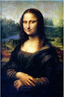 Mona Lisa (1505) by Leonardo da Vinci   Oil on a Poplar Panel