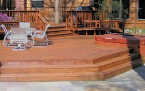 hmmm....this might work as a step down deck to the pool...