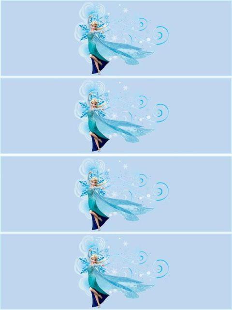 Cumpleaños de Frozen: Mini Kit para Imprimir Gratis. | Ideas y material gratis para fiestas y celebraciones Oh My Fiesta!