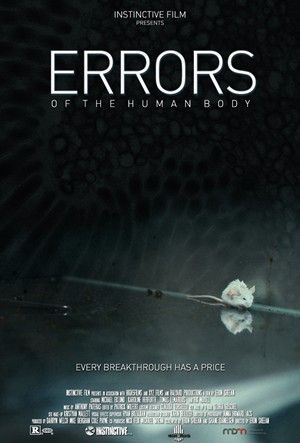 Not sure this will be a film worth seeing, but I like the teaser poster. Film title is Errors Of The Human Body.