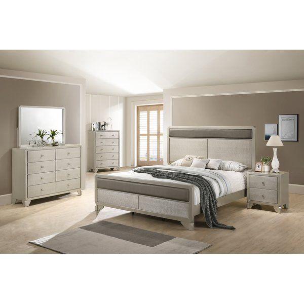 Yates Standard 5 Piece Bedroom Set Wood Bedroom Sets King Bedroom Sets Bedroom Sets