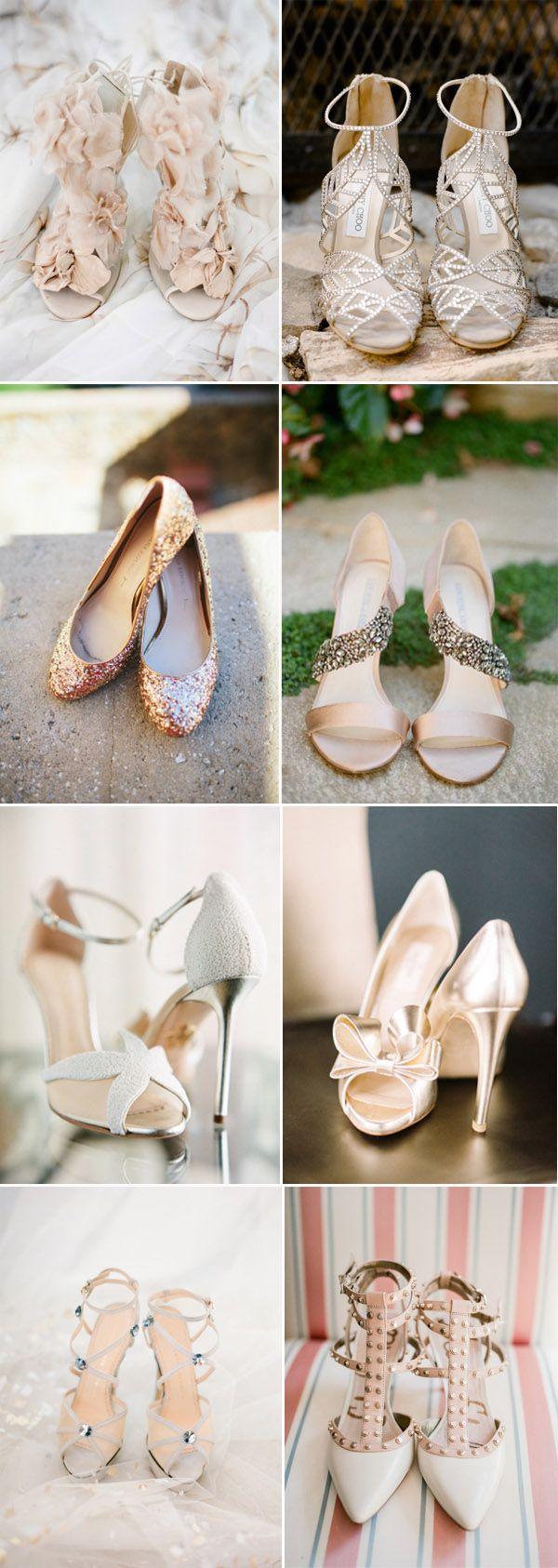 detailed elegant wedding shoes photo ideas for the big day