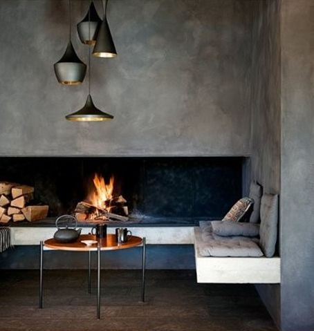 Home and Delicious: 10 rooms – and fireplaces