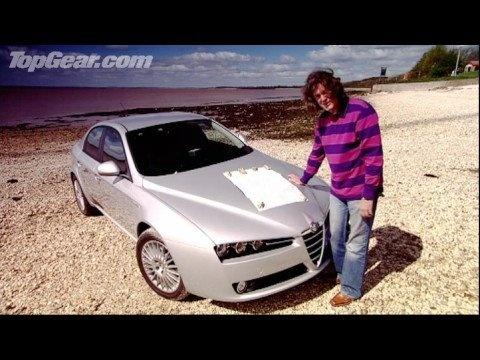 Alfa Romeo 159: James May tries not to swear - Top Gear - BBC