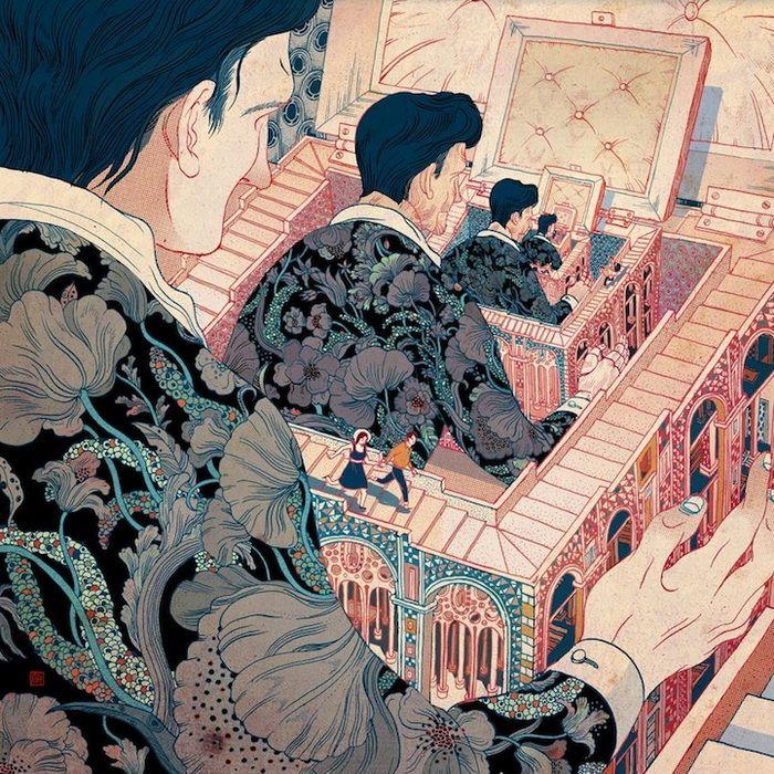 Затейливые иллюстрации от Victo Ngai, талантливая художник-иллюстратор из Нью-Йорка. Родилась в 1988 году в Гонконге.