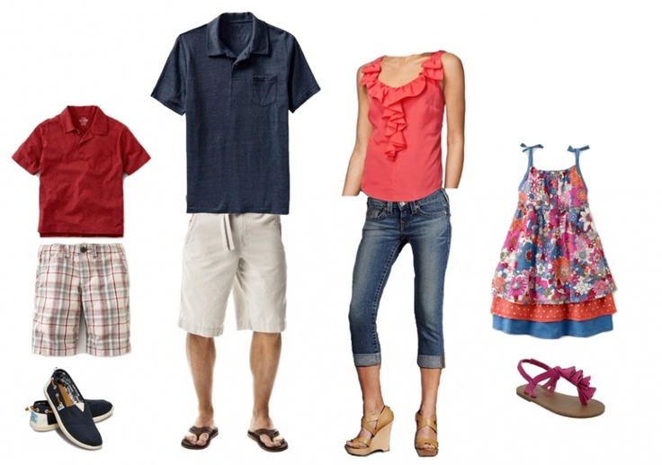 what to wear for family photos - Google Search